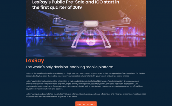 Lexray (LEXR) ICO Details, Ratings and Overview
